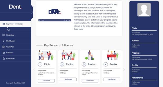 eLearning Portal and Dashboard